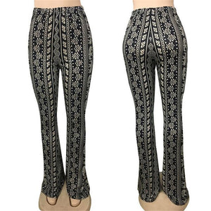 Bohemian Tribal Bell Bottom Pants