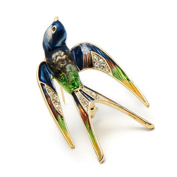 Beautiful Swallow Brooches