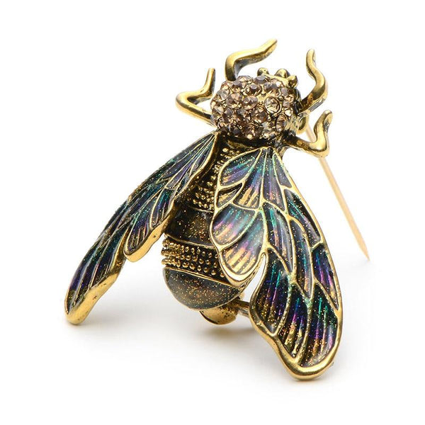 Retro Wasp Brooch