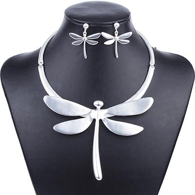 Dragonfly Jewelry Set