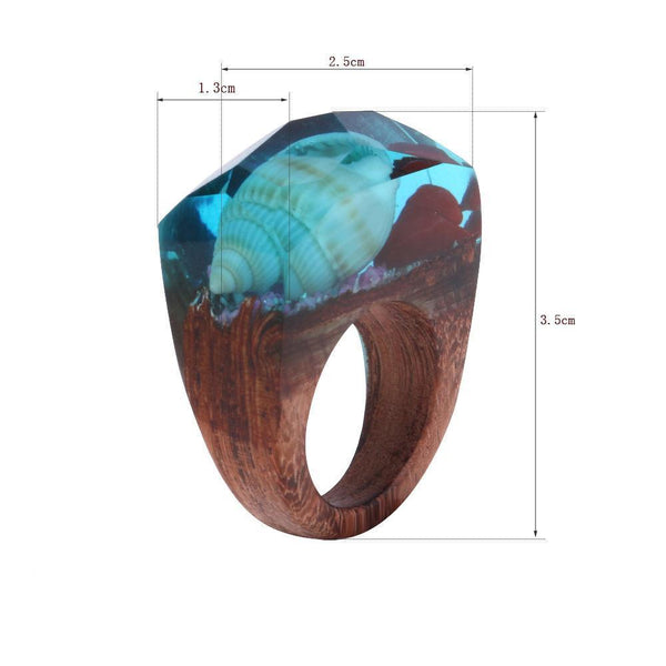 Underwater Conch Shell Rings