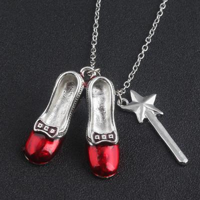 Alice in Wonderland Fairy tale Charm Pendant Necklace