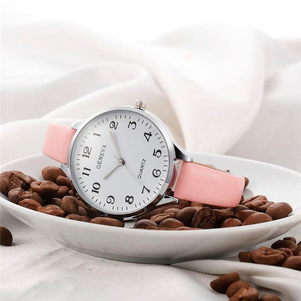 Ladies Geneva Quartz Watch
