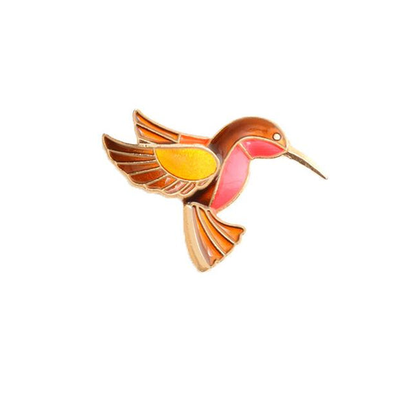 Hummingbird Brooches
