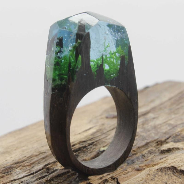 Whirlwind Wooden Rings