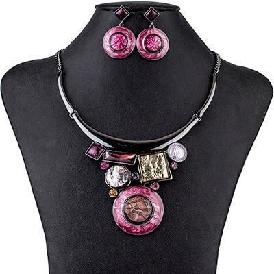Abstract Jewelry Set