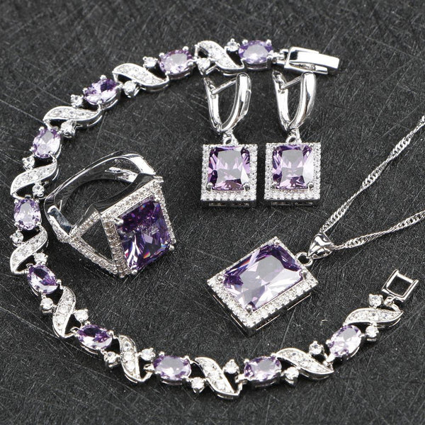 Elegant Gem Jewelry Set