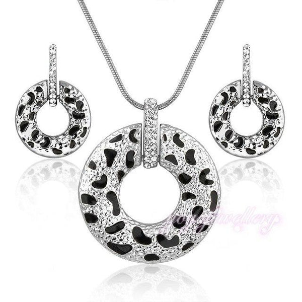 Leopard Spot Jewelry Set
