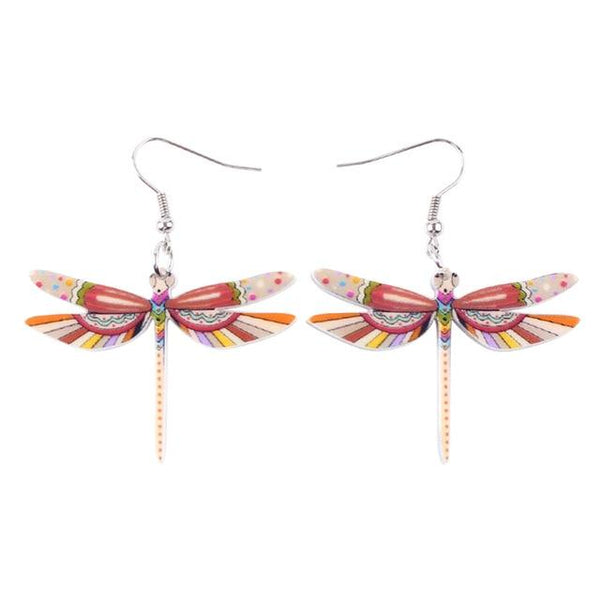 Summer Drop Dragonfly Earrings