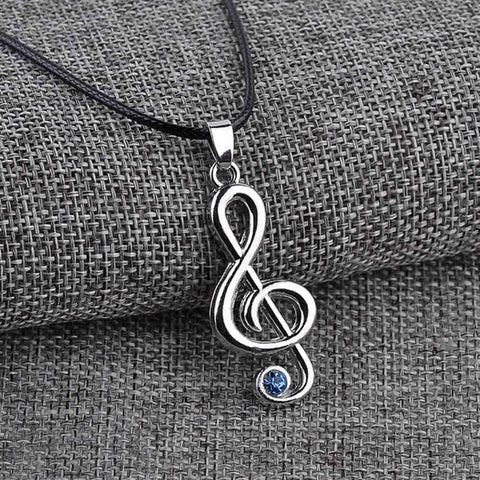Hot Music Note Necklace