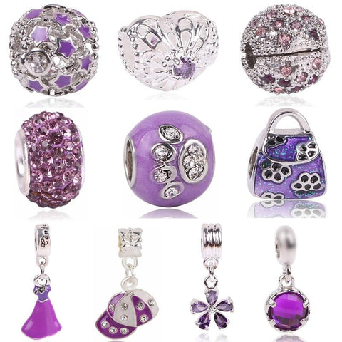 Purple Passion Charms