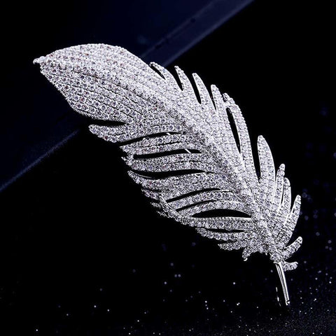Angel Feather Brooch