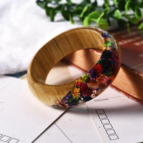 Remarkable Rainbow Flower Bracelets