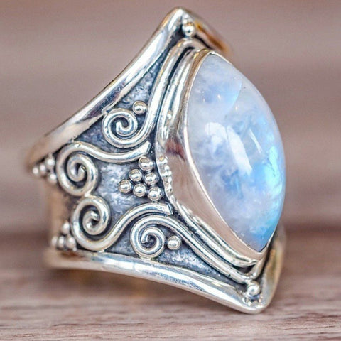 Mystical Stone Vintage Rings