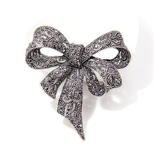 Winter Bow Brooch