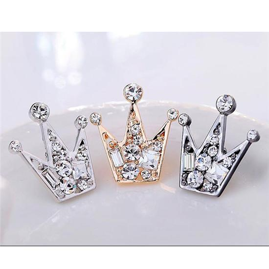 Crown Pin Brooches