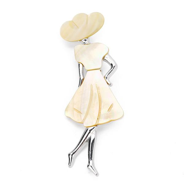 Elegant Lady Brooches