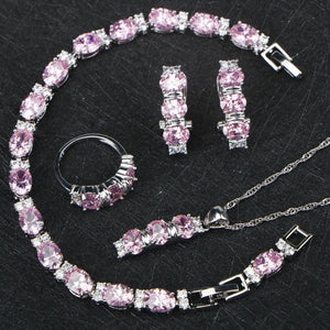 Pretty in Pink Jewelry Set