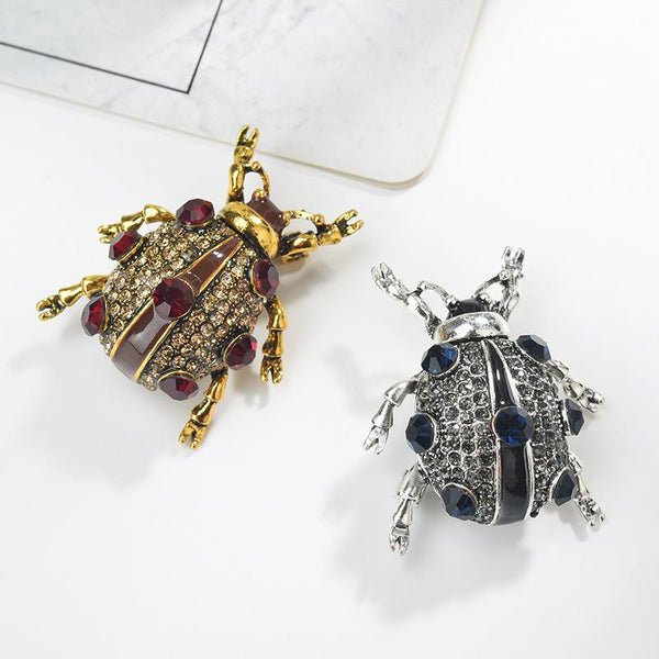 Wild Beetle Brooches