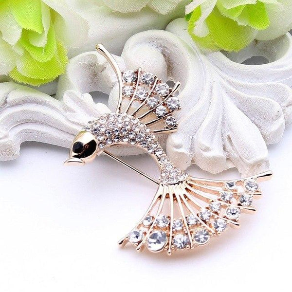 Mermaid Fish Brooch