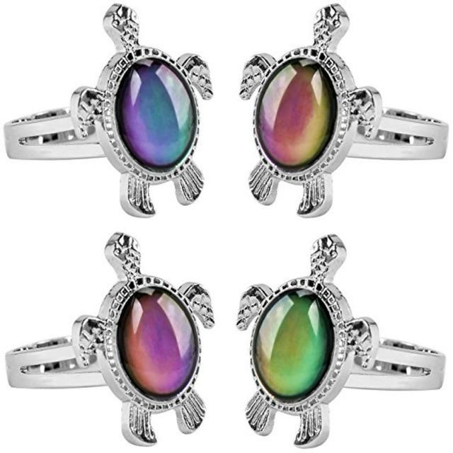 Sea Turtle Mood Rings