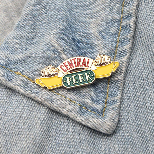 Central Perk Brooch