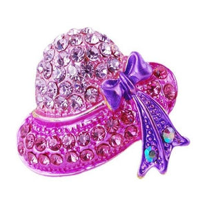 Charming Ladies Hat Brooches