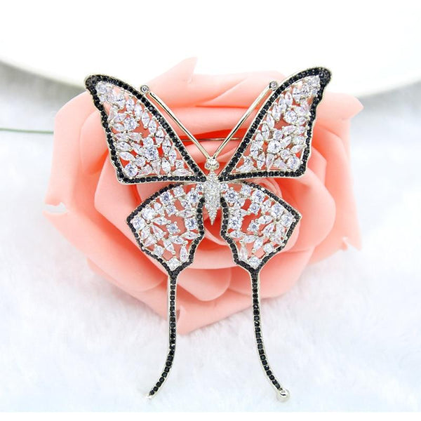 Exquisite Butterfly Brooch