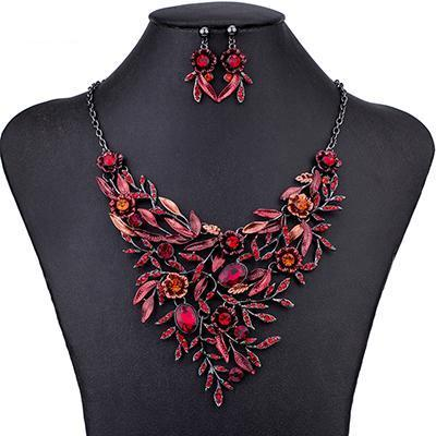 Wild Summer Floral Jewelry Sets