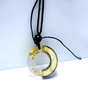 Round Resin Pendants
