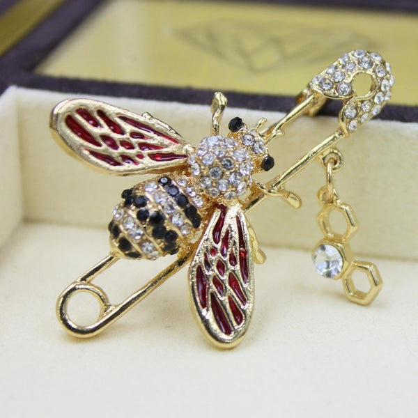 Vintage Bee Lapel Pin