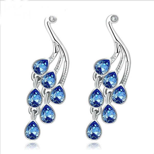 Water Droplet Crystal Earrings