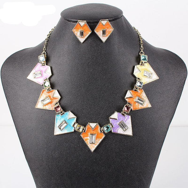 Tribal Collar Jewelry Sets