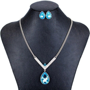 Elegant Crystal Jewelry Sets
