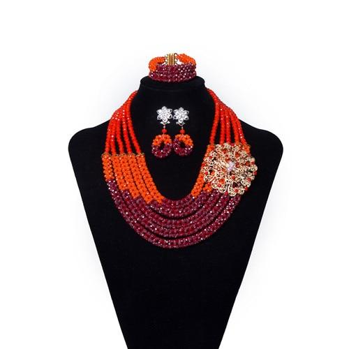 Nigerian Crystal Jewelry Set