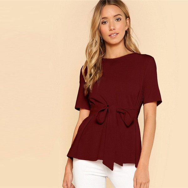 Elegant Summer Weekend Blouse