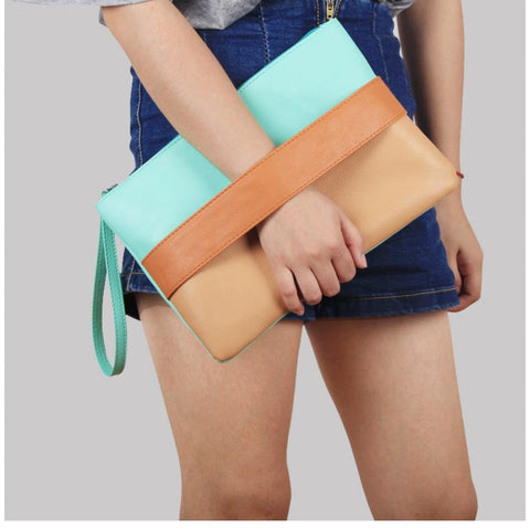 Candy Color Clutch Bags
