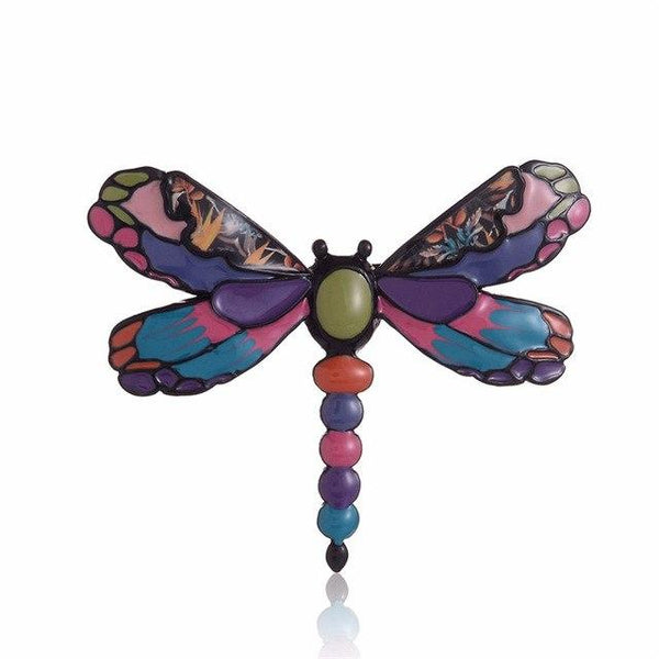 Cute Chic Enamel Dragonfly Brooches
