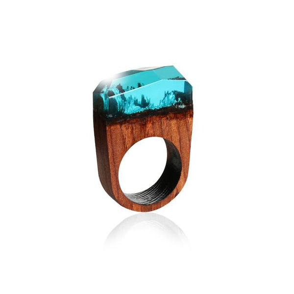 Secret Scenery Wooden Rings