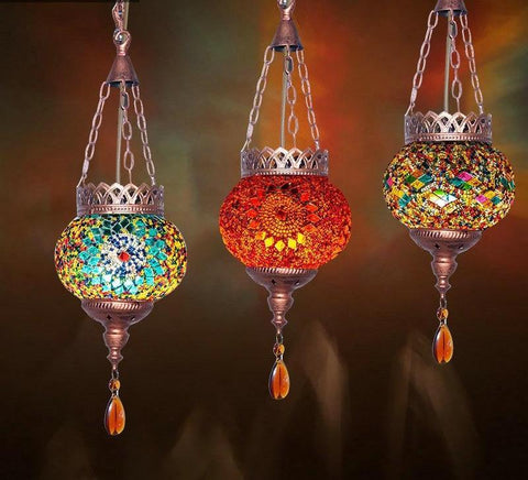 Incredible Moroccan Mosaic Bohemian Lights