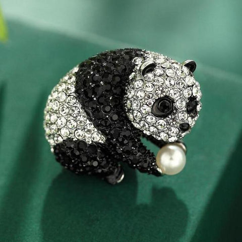 Panda Bear Brooches