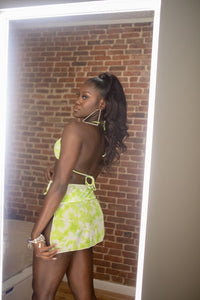 Harmony - Cover Up Skirt (Lime)