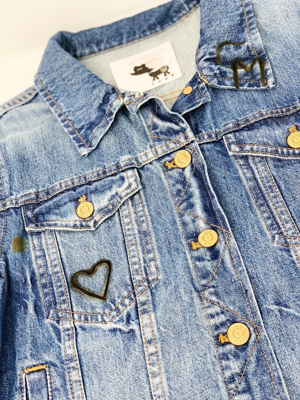 Denim Flare: Custom Iron Branding