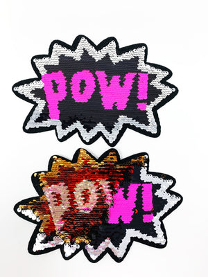 "PATCH BAR: Large ""Pow Flip"" Patch"