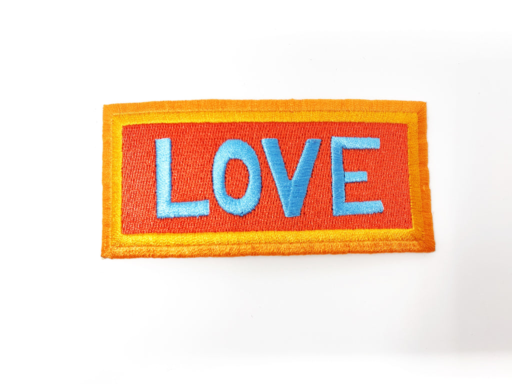 "PATCH BAR: Small ""LOVE"" Patch"