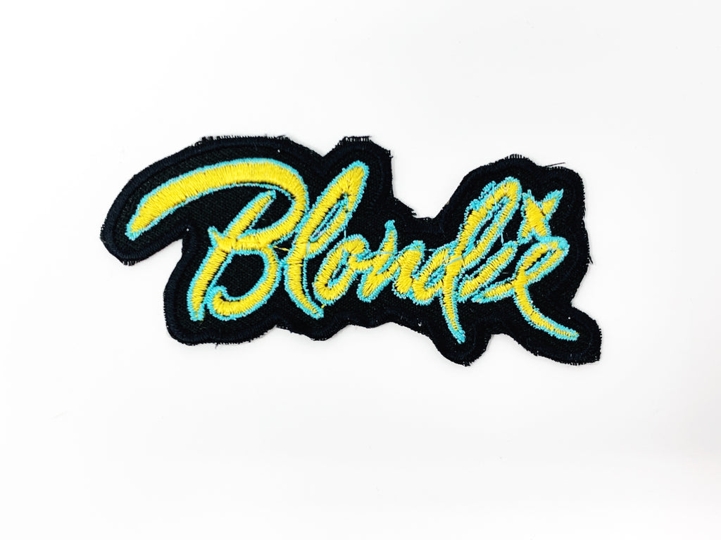 "PATCH BAR: Small ""Blondie Signature"" Patch"