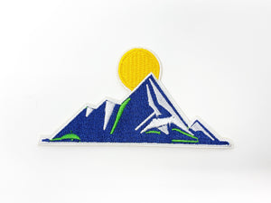 "PATCH BAR: Small ""Mountain Ridges Sunrise"" Patch"