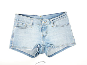 THE SCAVENGER COLLECTION: Women's Shorty Levi Shorts Size 25