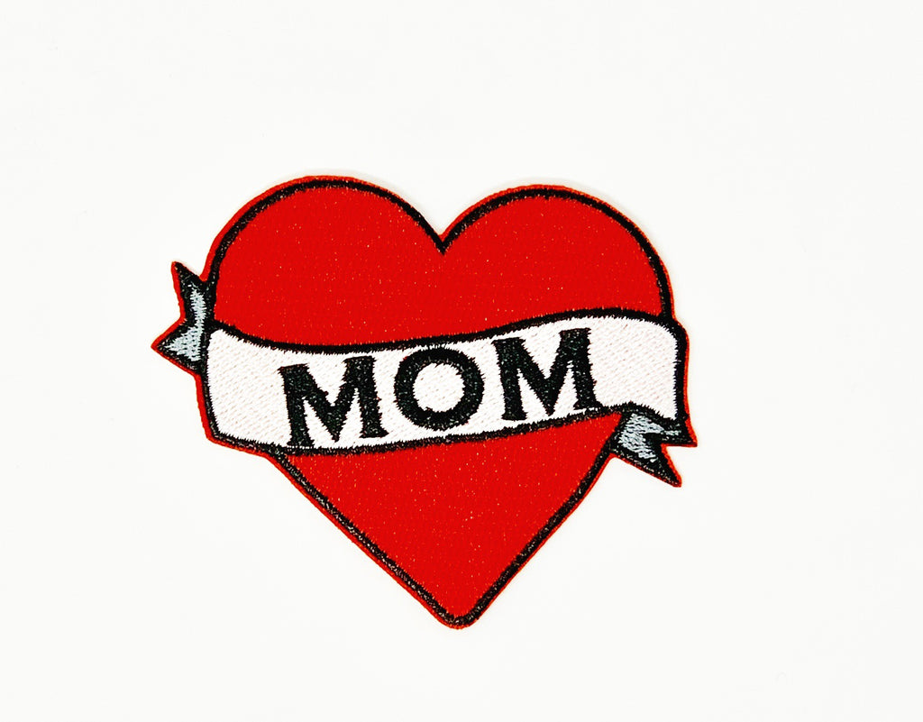 "PATCH BAR: Small ""Love Mom"" Patch"