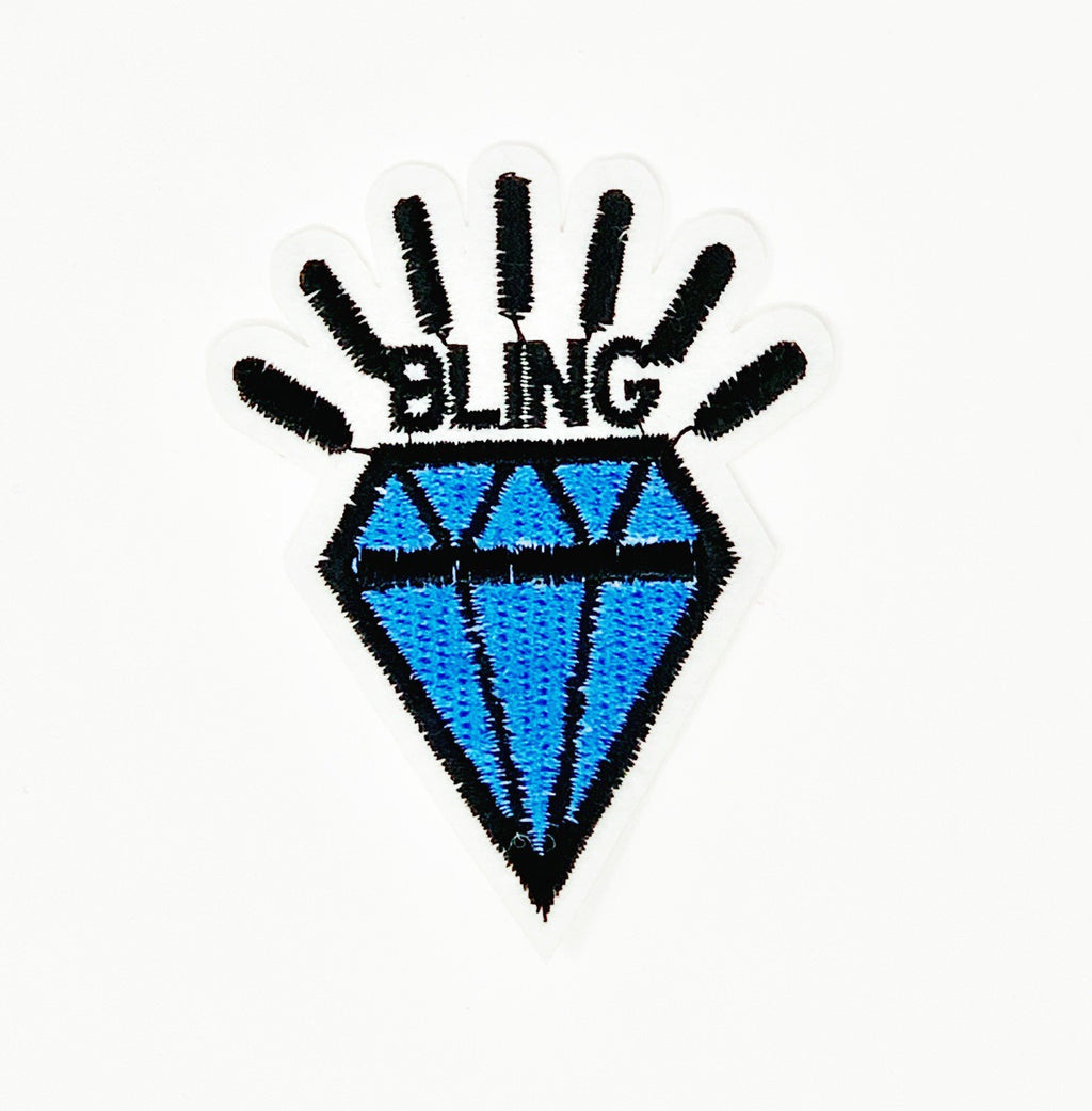 "PATCH BAR: Small ""Bling Gem"" Patch"